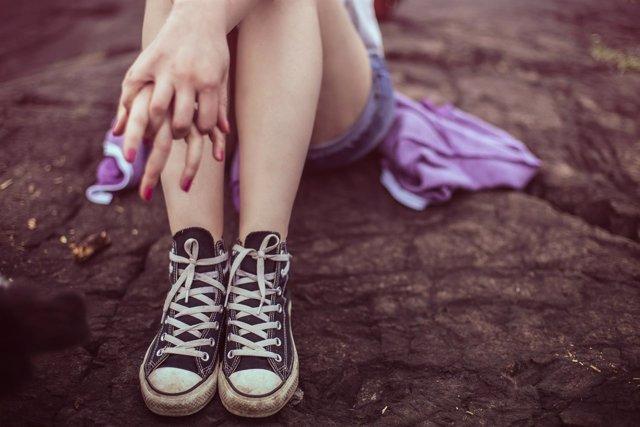 Adolescente chica