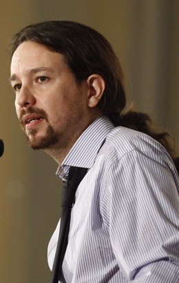 El candidato de Unidos Podemos a la Presidencia del Gobierno, Pablo Iglesias