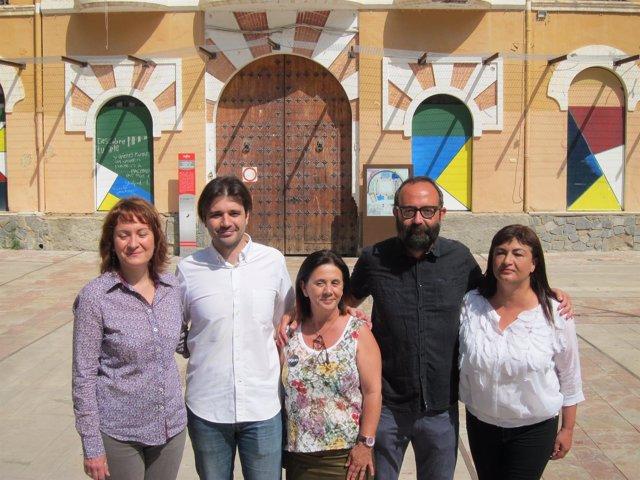 Imagen de los candidatos de Unidos Podemos