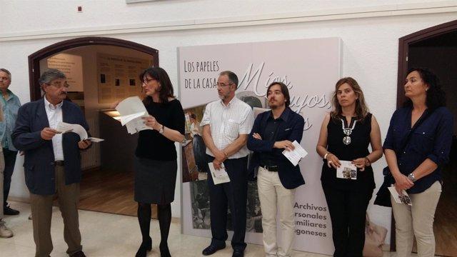 Presentación del proyecto 'Los papeles de casa' en Huesca