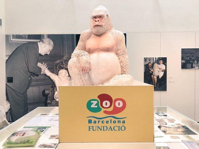 Copito en la exposición 'Ikunde, Barcelona, Metròpoli colonial'