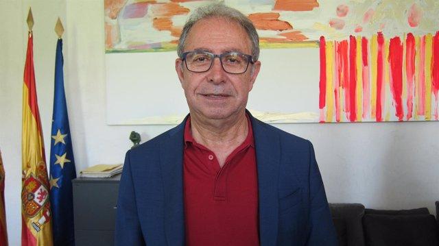 El consejero de Hacienda y Administración Pública de Aragón, Fernando Gimeno