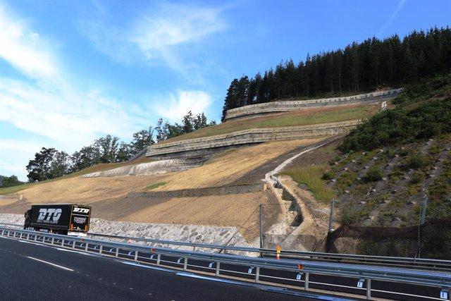 Imagen de la AP1 en Eskoriatza