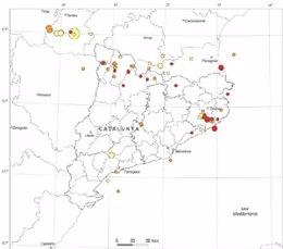 Catalunya ha registrado 800 terremotos anuales de media