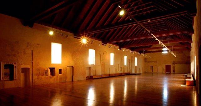 La sala dormitorio del Centro del Carmen