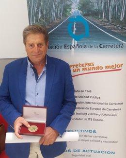 Ángel Bara, promotor de La Cicloturista