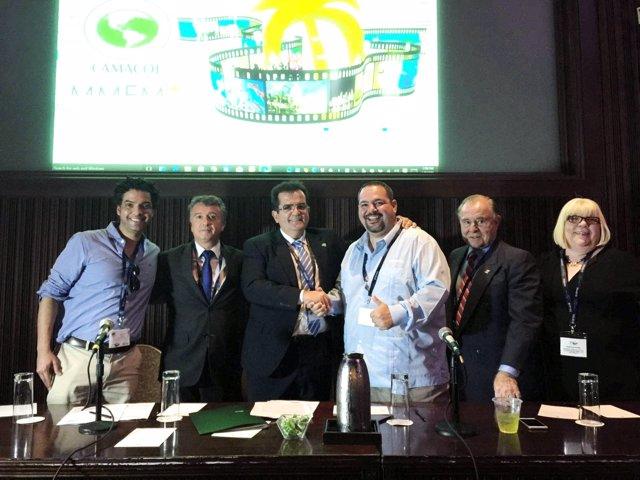 Diputación estrecha lazos con la Miami Media Film Market.