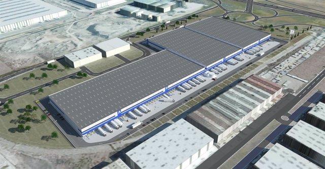 Imagen del proyecto de parque logístico