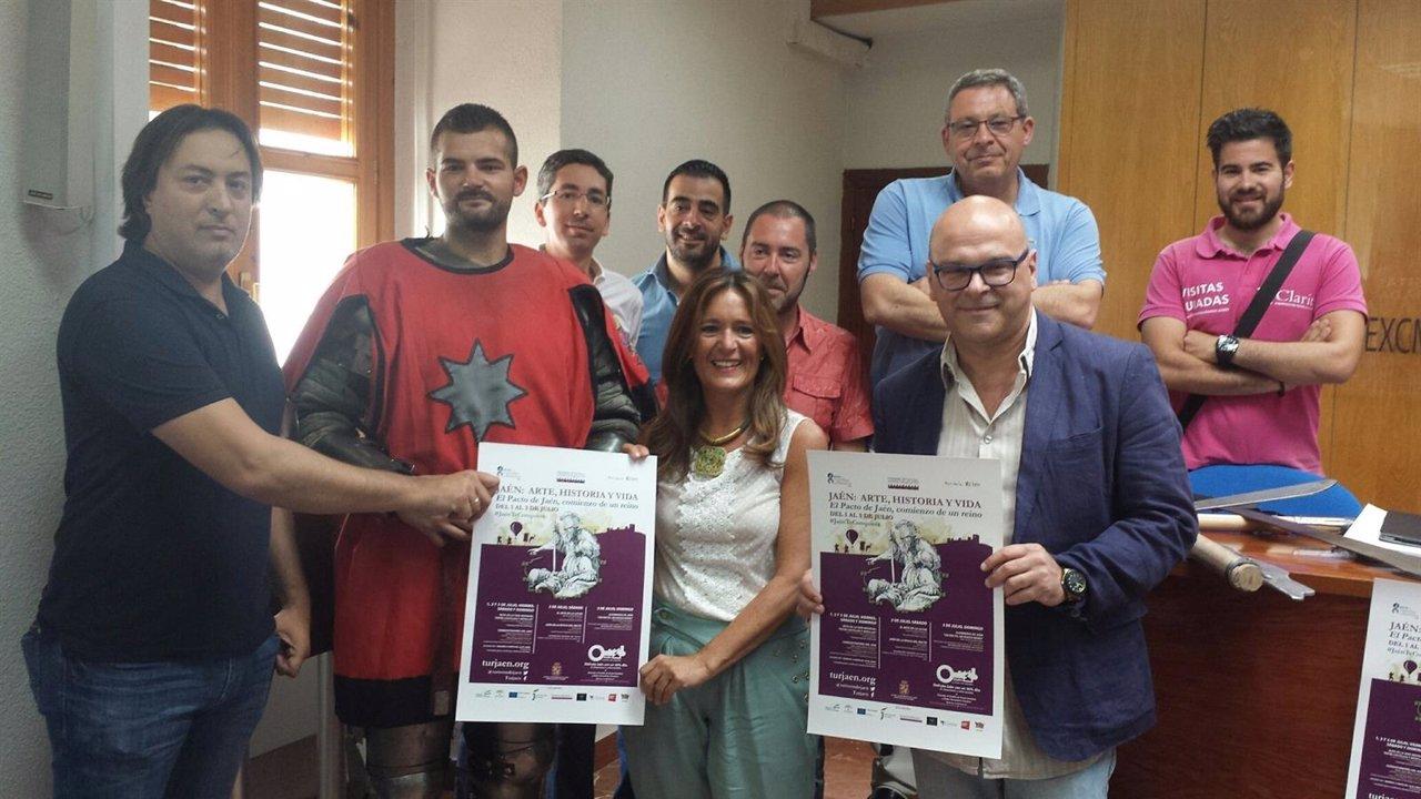 Presentación de 'Jaén: arte, historia y vida'.