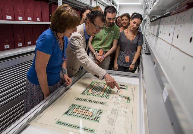 Visita al Archivo de la Alhambra