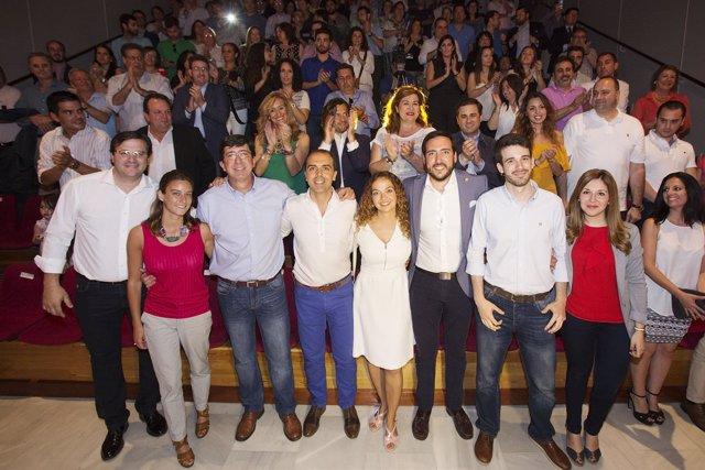Acto del primer aniversario de C's en Sevilla
