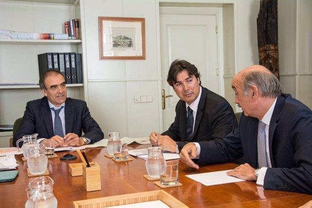 Mazón se reúne con el secretario general de Infraestructuras