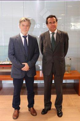 Pedro Santisteve y Sixte Cambra