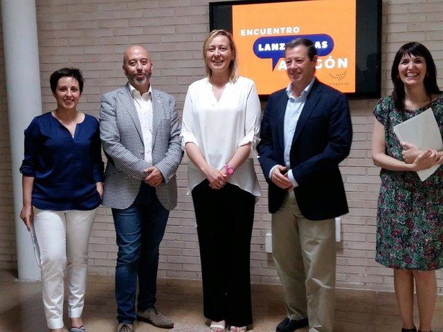 Marta Gastón ha participado en una sesión de las lanzaderas de empleo