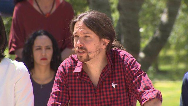 Iglesias presenta la campaña de Podemos para el 26J