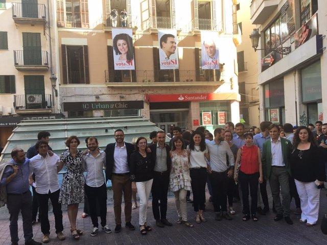 Acto inicio campaña PSIB
