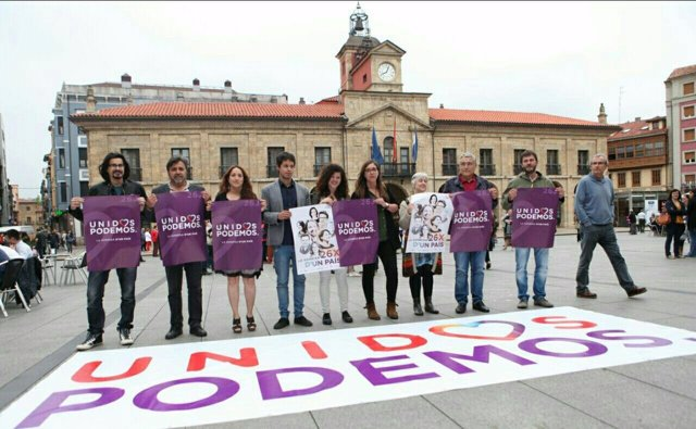 Apertura de campaña de Unidos Podemos
