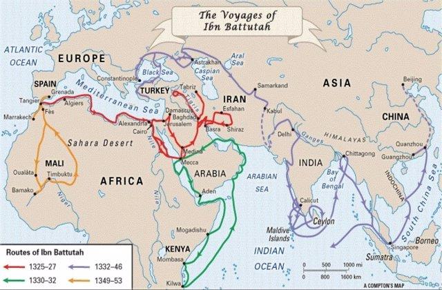 Los viajes de Ibn Battuta