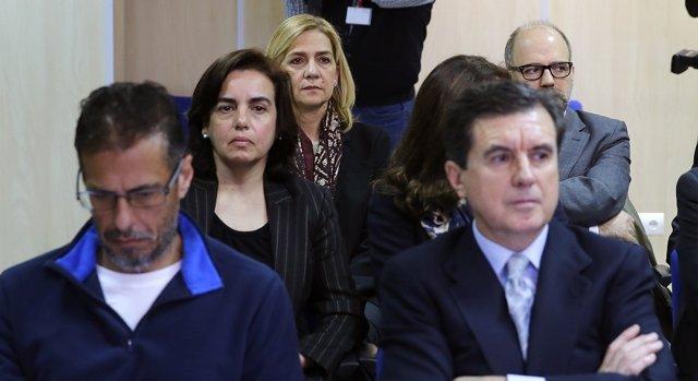 La Infanta Cristina en el caso Noos