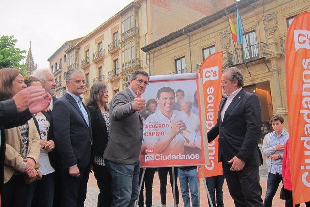 Acto de inicio de campaña Ciudadanos Asturias