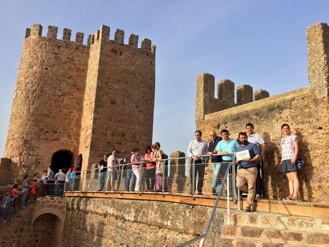 Jornadas de puertas abiertas en el Castillo de Baños de la Encina