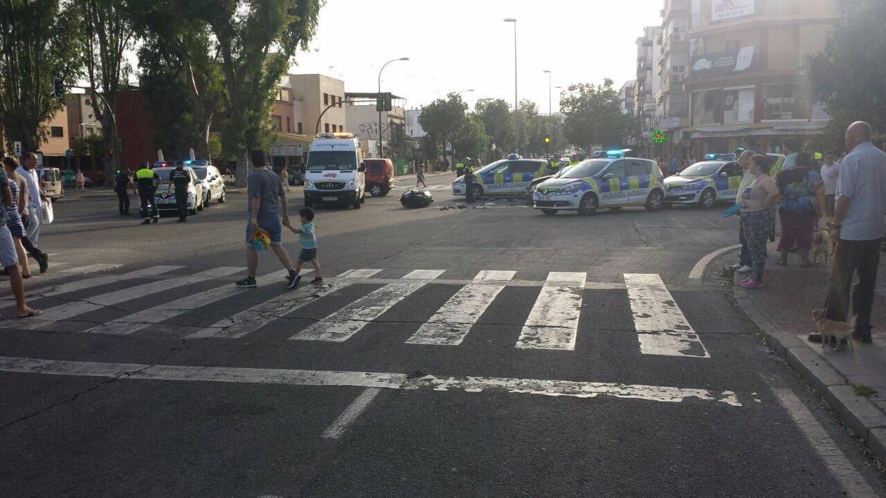 Accidente mortal en la Ronda de Tamarguillo de Sevilla