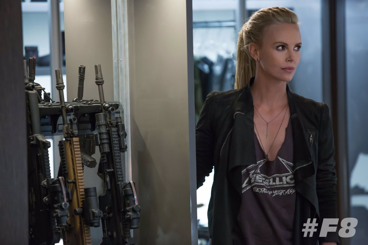 Charlize Theron en Fast & Furious 8