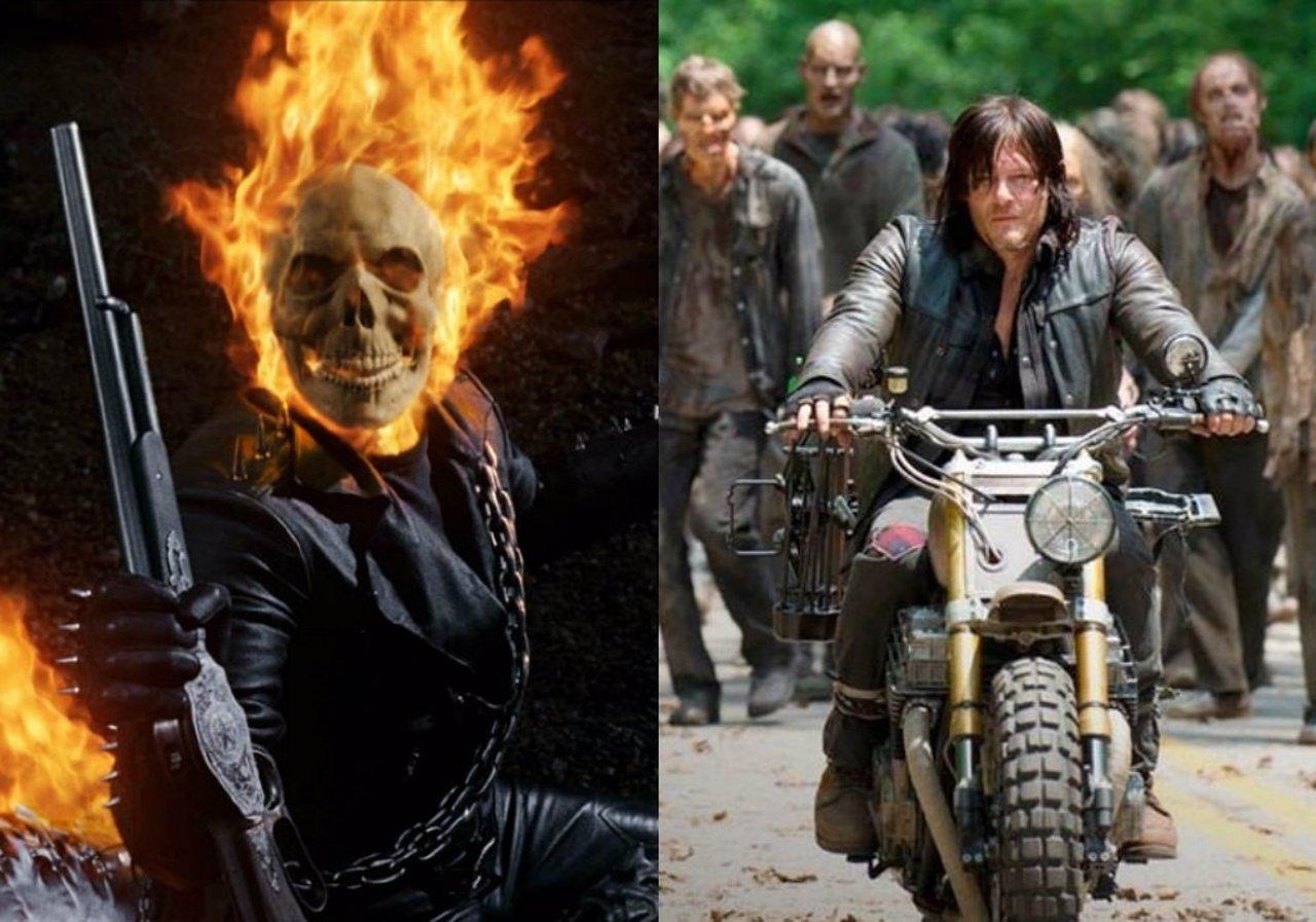 Norman Reedus quiere ser el próximo Ghost Rider