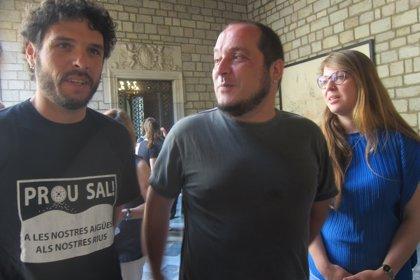 """Barcelona es compromet a """"fer visible"""" els abocaments d'Iberpotash al Llobregat"""