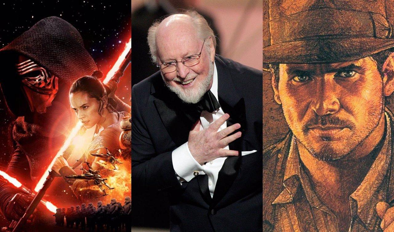 John Williams pondrá música a Star Wars 8 e Indiana Jones 5