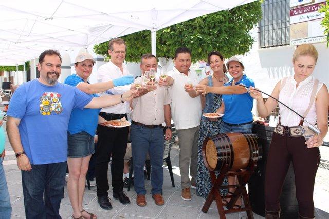 I Maridaje entre vino y marisco en Montemayor