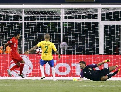 Brasil, eliminada de la Copa América del Centenario