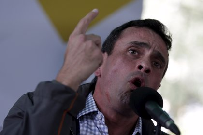 """Capriles convoca una movilización """"por los excluidos"""" de la validación del CNE"""