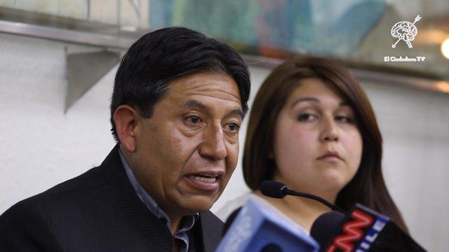 David Choquehuanca.