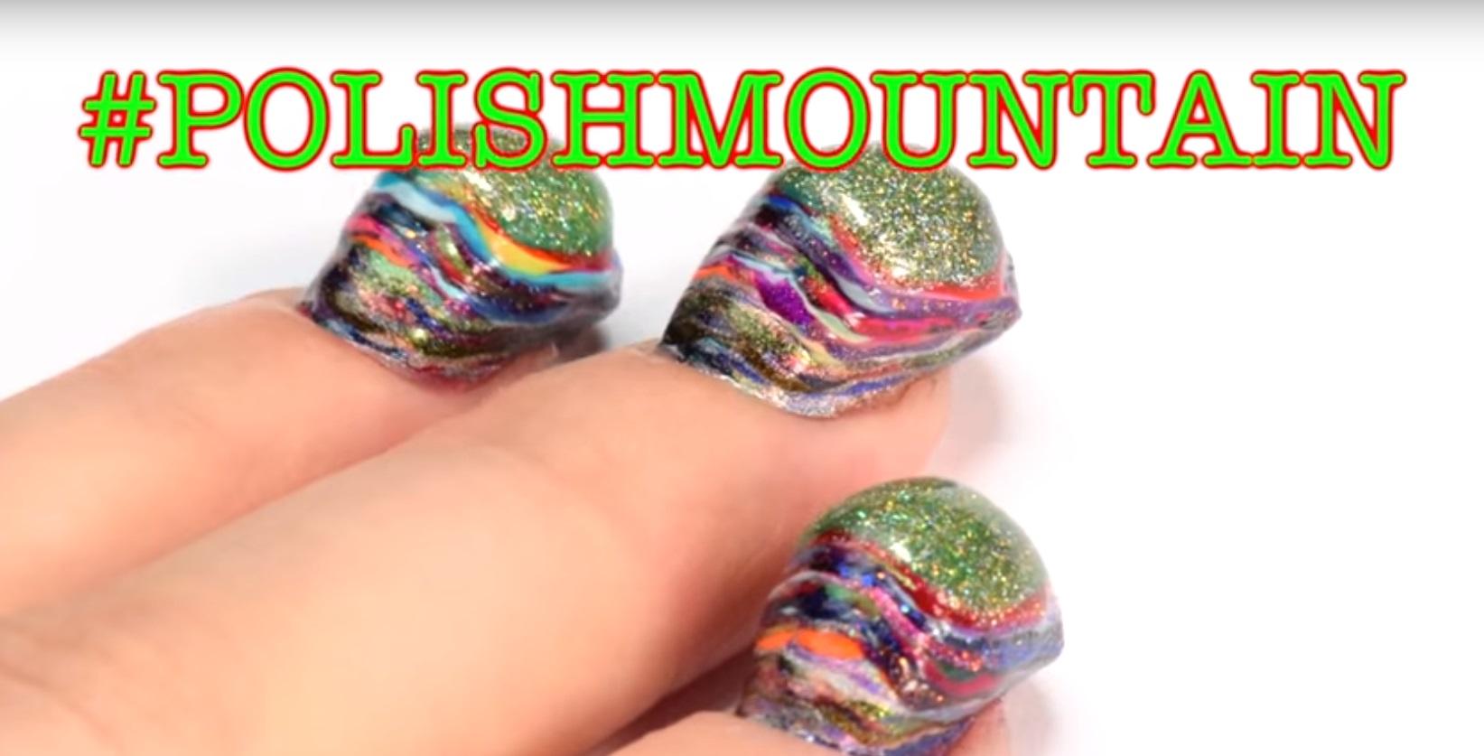 12 horas usando 116 esmaltes de uñas y este es el resultado