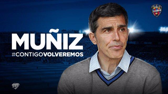 Juan Ramón López Muñiz, nuevo entrenador del Levante