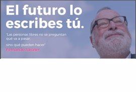 UPyD lanza una campaña sobre Savater, número 5 por Madrid, en su intento de volver al Congreso