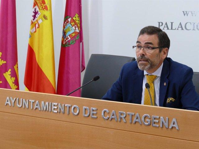 Comparecencia alcalde de Cartagena, José López