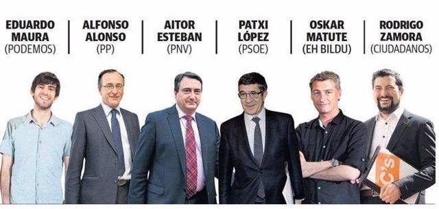 Candidatos vascos