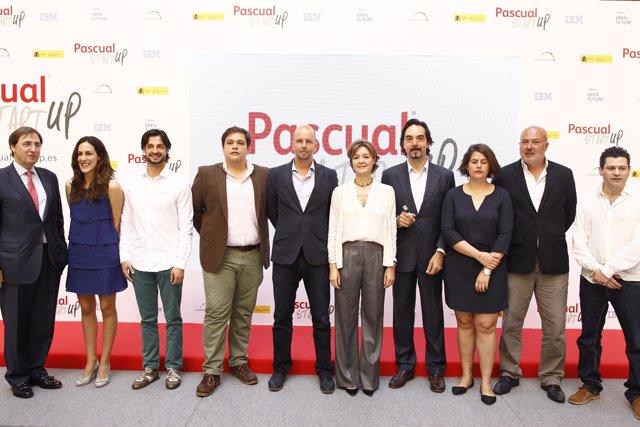 Tomás Pascual con Isabel García Tejerina