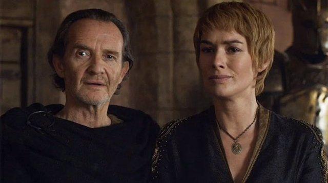 Cersei y Qyburn en Juego de tronos