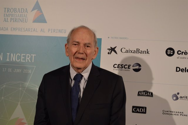 Michel Camdessus, exdirector gerente del FMI