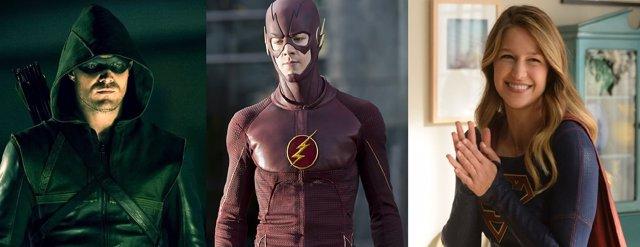 Supergirl, The Flash, Arrow