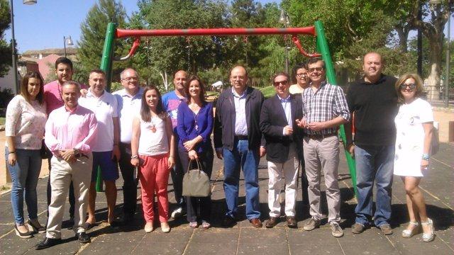 Representantes del PP de Granada en Armilla
