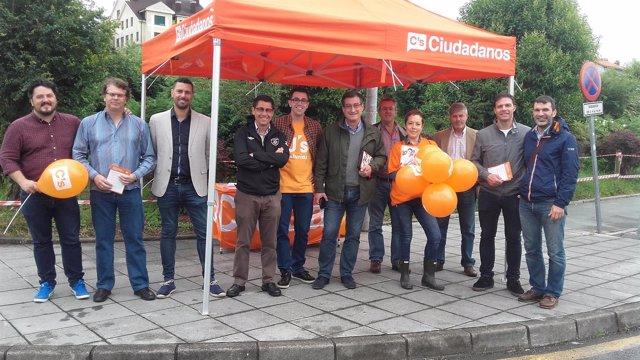 Ciudadanos de campaña en Corvera