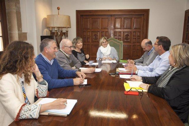 Reunión de la Fundación Obra Pía Juan de Herrera
