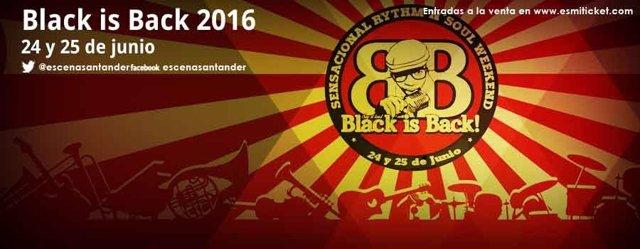 Blac is Back, en Escenario Santander el 24 y 25 de junio