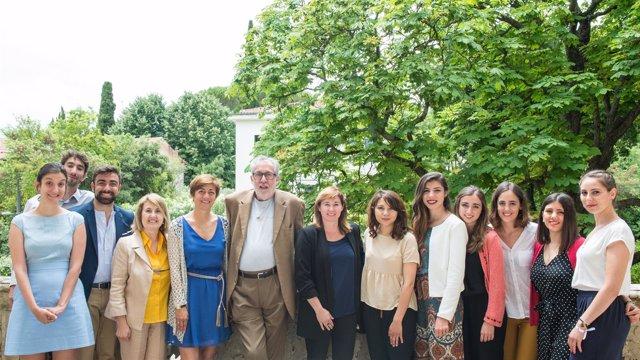 El Cónsul Español En Montpellier Recibe A Pilar Montes Y Al Equipo De Concéntric
