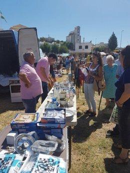 Acto de Unidos Podemos en Arcos (Cádiz)