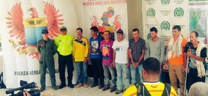 Capturan a 8 guerrilleros del ELN que ingresaban armas desde Venezuela
